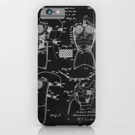 Vintage Cold Weather Mask Patent iPhone Case