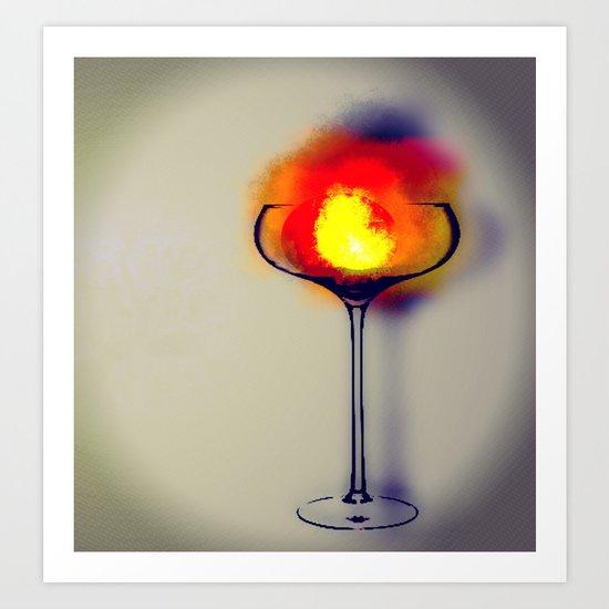 MixMotion: Hot Drinks Art Print