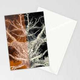 Bleached Bones of the Symmetrical Tree Stationery Cards