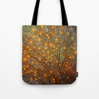 philippines Tote Bags featuring Magical 02 by The Last Sparrow