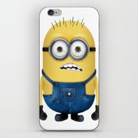 minion iPhone & iPod Skins featuring Minion  by Lyre Aloise