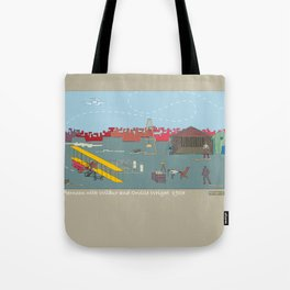 Wilbur and Orville Wright, 1903 (c) Tote Bag