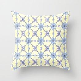 symetric patterns 19 -mandala,geometric,rosace,harmony,star,symmetry Throw Pillow
