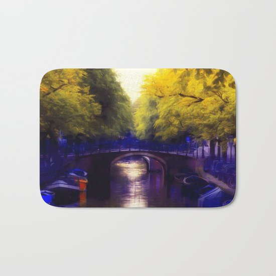 A small bridge Bath Mat
