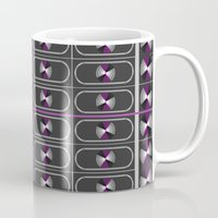 asexual Mugs featuring Ace Pride by DomRuff