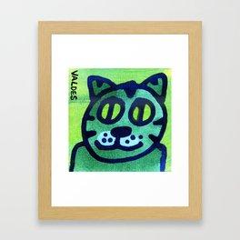 Hey Kitty Kitty Framed Art Print