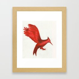 Mockingjay CatchingFire Framed Art Print