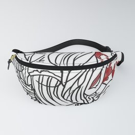 Zombie PinUp Fanny Pack