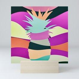 Sliced Abstract Ananas Mini Art Print