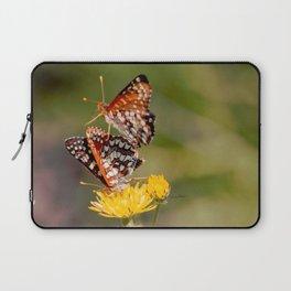 Butterfly Acrobats Laptop Sleeve
