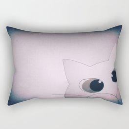 Happy New Year cat 91 Rectangular Pillow