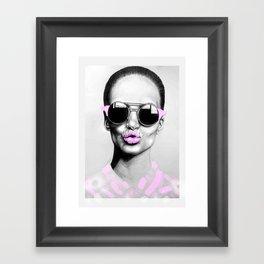 + SMOKE AND MIRRORS + Framed Art Print