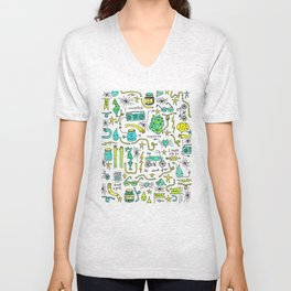 to and fro Unisex V-Neck
