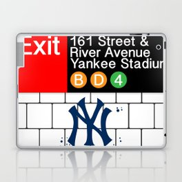 NYC Yankees Subway Laptop & iPad Skin