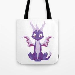 Spyro the dragon Lowpoly Tote Bag