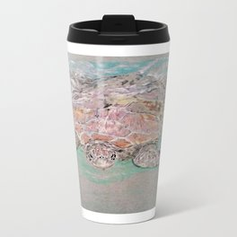 Green Sea Turtle Metal Travel Mug