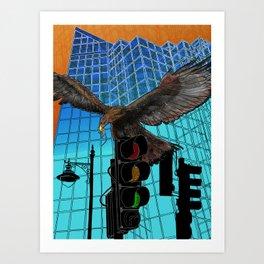 Ecotone 2 Art Print