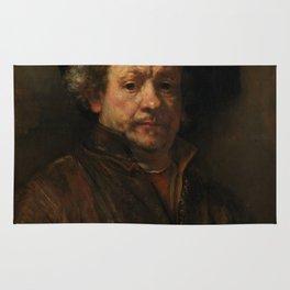 Rembrandt van Rijn - Self-portrait Rug