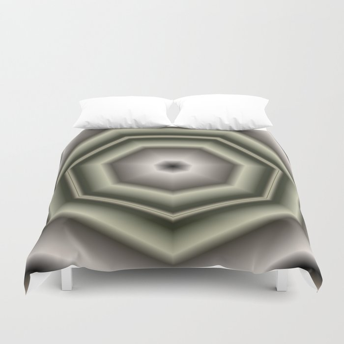 Polygon Auras in CMR 03 Duvet Cover