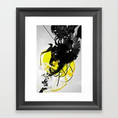 The morphing connection Framed Art Print