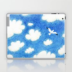 Seagull in the sky Laptop & iPad Skin