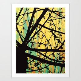 Coots Series 1 of 4 Art Print