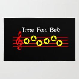Time For Bed - Zeldas Lullaby (The Legend Of Zelda: Ocarina Of Time) Rug