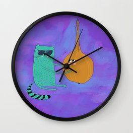 Helvetic and Armany Wall Clock