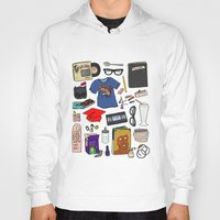 ghost world Hoodies featuring Ghost World by Shanti Draws