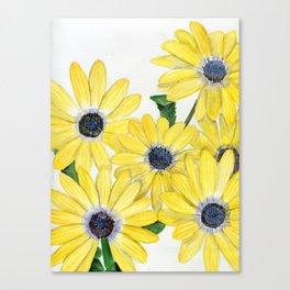 Strangely Sunny Canvas Print