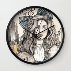 There's No Place Like Home Wall Clock