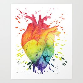 Have a Heart Art Print
