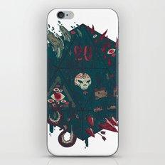 Die of Death iPhone & iPod Skin