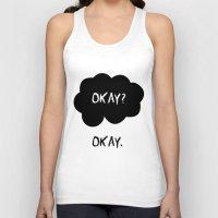 okay Tank Tops featuring Okay by alboradas