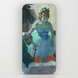 Edgar Degas - Dancer In Her Dressing Room iPhone Skin