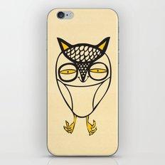 satisfied  owl iPhone & iPod Skin