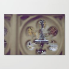 Angel In The Water Canvas Print