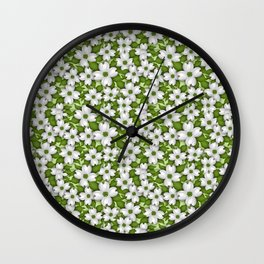 The Beautiful Dogwood (Inspirational Quotes) Wall Clock