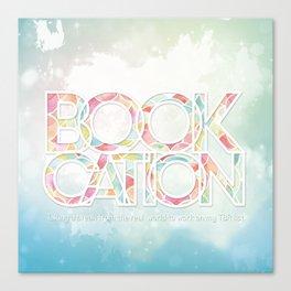 Bookcation Canvas Print