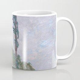 Wind Effect, Series of The Poplars Coffee Mug