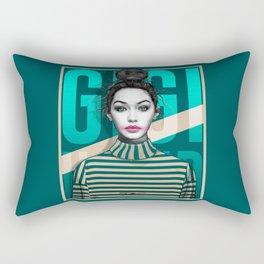 Gigi Hadid Rectangular Pillow