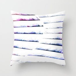 α White Crateris Throw Pillow