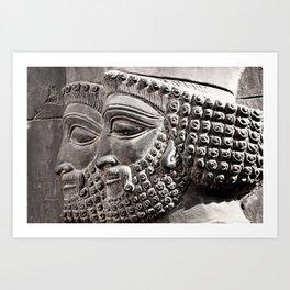 Persian Guards Art Print