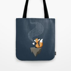Fox Tea Tote Bag