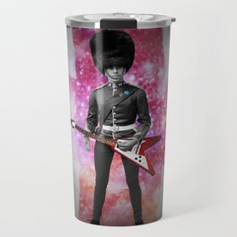 Rick was all up for army surplus for the bands 'look' but in this he just felt he looked like a dick Travel Mug