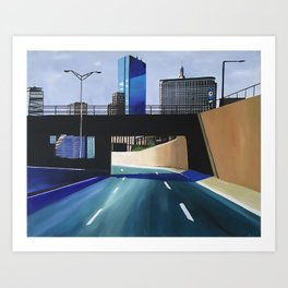 THE RIDE OUT Art Print