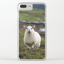 The prettiest sheep Clear iPhone Case
