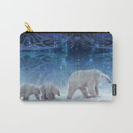 Arctic Journey of Polar Bears Carry-All Pouch