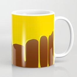 Custard And Chocolate Pudding Coffee Mug