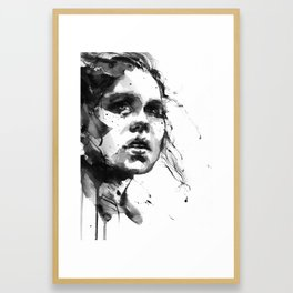 black wind I Framed Art Print